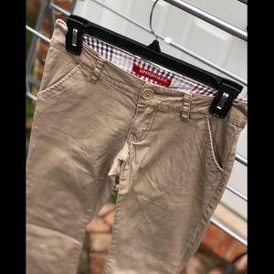 Unionbay Tan Khaki Stretch Bootcut Pants